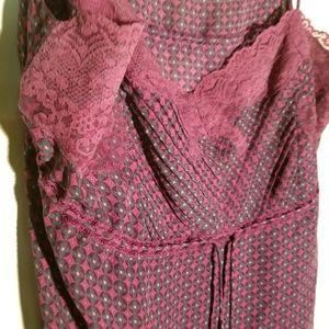 Express Intimates & Sleepwear - Banana Rep. Purple Camisole